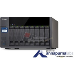 QNAP TS-831X-8G Cost-effective quad-core business NAS with integrated dual 10GbE SFP+