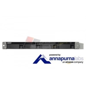 QNAP TS-431XU-RP2G Cost-effective quad-core NAS with dual 10GbE SFP+ ports and redundant power supplies