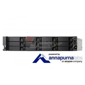 QNAP TS-1231XU-RP Cost-effective quad-core NAS with dual 10GbE SFP+ ports and redundant power supplies
