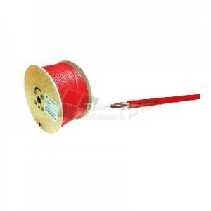 LINK CB-0216P FIRE ALARM, SHIELD 2x16 AWG, 1 PAIR, PE , OUTDOOR