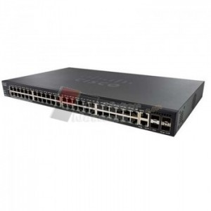 Cisco SG350X-48-K9-EU 48-Port Gigabit Stackable Managed Switch