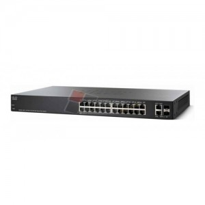 Cisco SF250-24P-K9-EU 24-Port 10/100 PoE Smart Switch