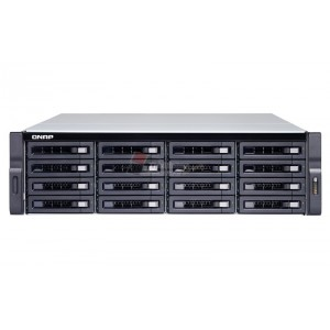 QNAP TS-1677XU-RP-2600-8G 16-BAY RACKMOUNT NAS WITH AMD RYZEN 7 PROCESSOR