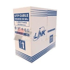 Link US-9116LSZH CAT 6 ULTRA UTP Low Smoke Zero Halogen Cable w/Filler (600 MHz.)