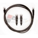 US-5010S-6 - LINK SHIELD CAT 5E RJ45-RJ45 PATCH CORD 3 M.