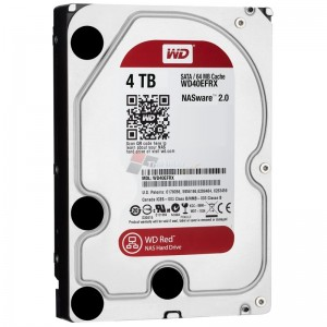 WESTERN DIGITAL WD40EFRX Caviar Red 4TB HDD For NAS hard drive 3.5""