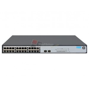 HPE JH018A 1420-24G-2SFP+ 10G Uplink Fixed Port Unmanaged Ethernet Switches