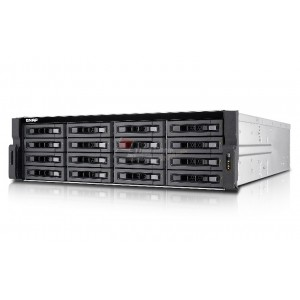 QNAP TVS-EC1680U-SAS-RP-8GE 16-bay 12Gbps SAS-enabled high-performance NAS/iSCSI/IP-SAN unified storage