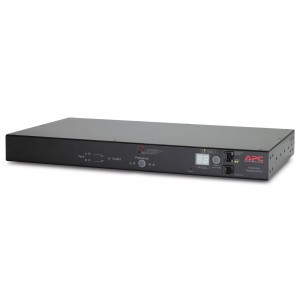 APC AP7723 RACK ATS, 20A/208V, 16A/230V, C20 IN, (8) C13 (1) C19 OUT