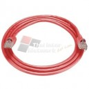 AMP AM-3682 CAT 6 RJ45-RJ45 PATCH CORD 7 Feet (Red)