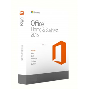 Microsoft T5D-02698 Office Home and Business 2016 32/64 English (FPP)