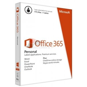 Microsoft QQ2-00570 Office 365 Personal English