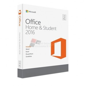 Microsoft GZA-00980 Office Mac Home Student 2016 English (FPP)